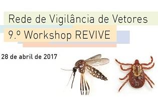 imagem do post do 9.º Workshop Rede de Vigilância de Vetores – REVIVE