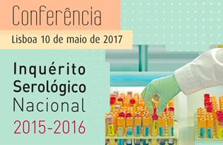 imagem do post do Alterada data de apresentação de resultados do Inquérito Serológico Nacional 2015-2016