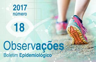 imagem do post do Boletim Epidemiológico Observações – Número 18 (janeiro-abril) 2017
