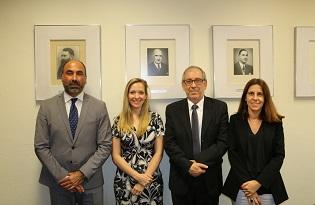 imagem do post do Responsáveis da formação da rede GOARN visitam Instituto Ricardo Jorge