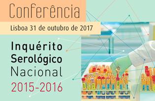 imagem do post do Conferência Inquérito Serológico Nacional 2015-2016