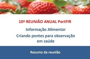 imagem do post do PortFIR – Plataforma de Informação Alimentar: resumo da reunião 2017