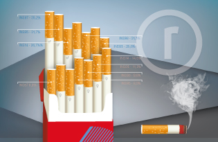 imagem do post do Relatório – Consumo de tabaco em Portugal Continental (INS 1987-2014)