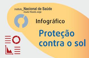 imagem do post do Infográfico INSA ─ Proteção contra o sol