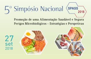 """imagem do post do 5º Simpósio Nacional """"Promoção de uma Alimentação Saudável e Segura – SPASS 2018"""""""