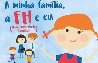 imagem do post do Instituto Ricardo Jorge publica três brochuras sobre Hipercolesterolemia Familiar para crianças e jovens