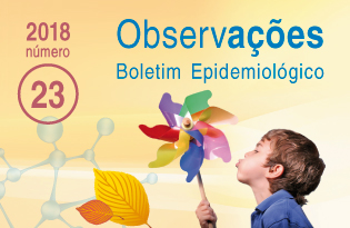 imagem do post do Boletim Epidemiológico Observações – Número 23 (setembro-dezembro) 2018