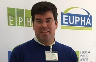 imagem do post do Ricardo Mexia toma posse como vice-presidente da Secção de Controlo de Doenças Infeciosas da EUPHA