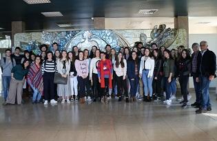 imagem do post do Estudantes do Agrupamento de Escolas Rafael Bordalo Pinheiro visitam Instituto Ricardo Jorge em Lisboa