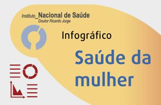 imagem do post do Infográfico INSA ─ Saúde da mulher