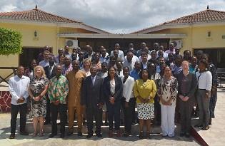 imagem do post do Peritos do Instituto Ricardo Jorge em missão de avaliação da implementação do Regulamento Sanitário Internacional em São Tomé e Príncipe