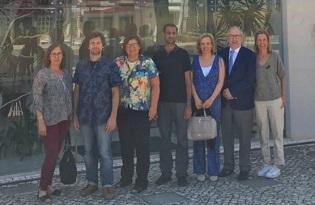 imagem do post do Diretor-geral do Instituto Nacional de Saúde de Moçambique visita Centro de Estudos de Vetores e Doenças Infeciosas