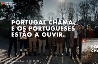 """imagem do post do """"Portugal Chama"""": Ministério da Saúde associa-se a campanha contra fogos rurais"""