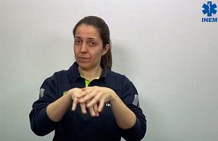 imagem do post do Covid-19: INEM produz vídeos em língua gestual com conselhos sobre a pandemia