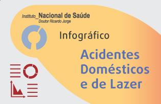 imagem do post do Infográfico INSA ─ Acidentes Domésticos e de Lazer