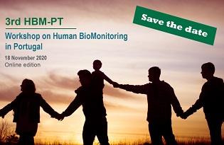 imagem do post do 3ºWorkshop de Biomonitorização Humana em Portugal com edição online