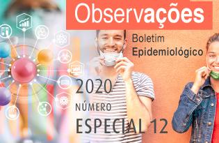 imagem do post do Boletim Epidemiológico Observações – Especial 12 COVID-19