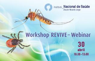 imagem do post do Instituto Ricardo Jorge promove Workshop REVIVE – Webinar