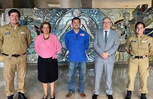 imagem do post do Federação Internacional da Cruz Vermelha visita Instituto Ricardo Jorge